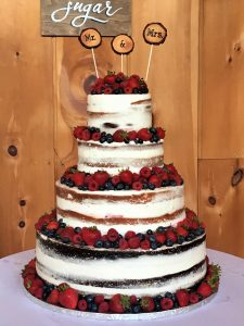 Fresh Fruit Naked Cake
